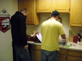 088-steven and mike doin the dishes and it was mike s