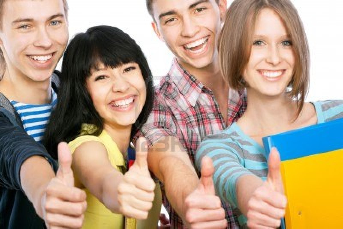13622966 group of happy students giving the thumbs up sign - Outlines For Effective Advice In papercheck reviewingwriting