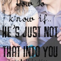 He's Just Not that Into You
