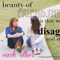 Friends Can Disagree